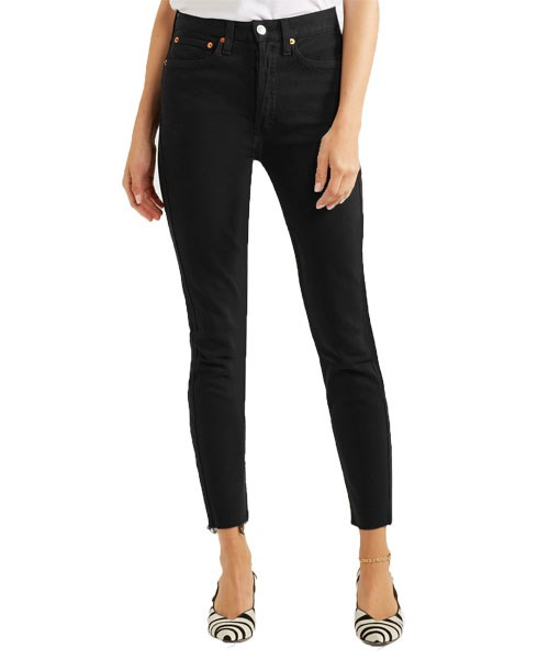 """Re/Done Originals High Rise Ankle Crop Jeans, $296, at [Revolve](https://rstyle.me/n/c3q6rdvs36