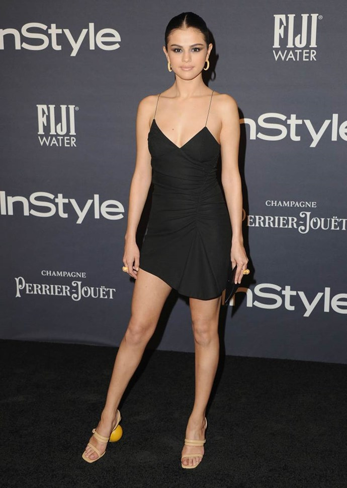 Selena Gomez at the InStyle Awards in October 2017.