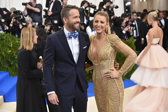 Blake Lively and Ryan Reynolds, 2017