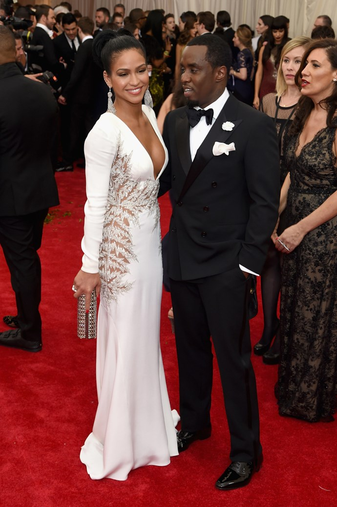 Cassie and Sean 'Diddy' Combs, 2015