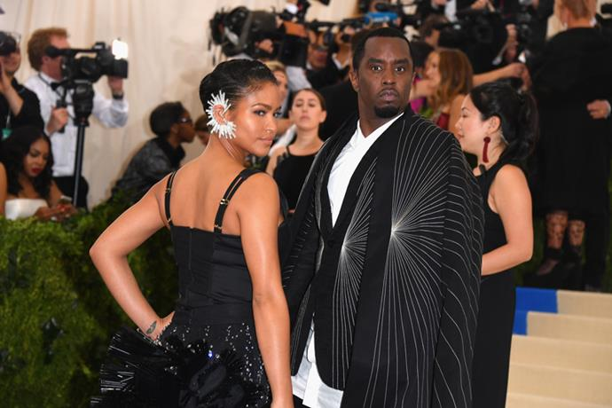 Cassie and Sean 'Diddy' Combs, 2017
