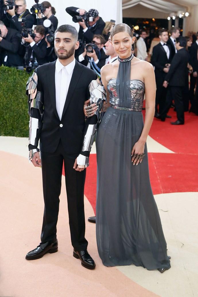 Gigi Hadid and Zayn Malik, 2016