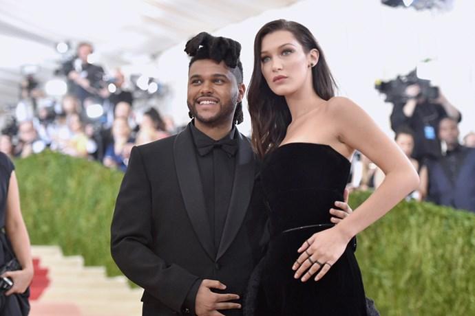 The Weeknd and Bella Hadid, 2016