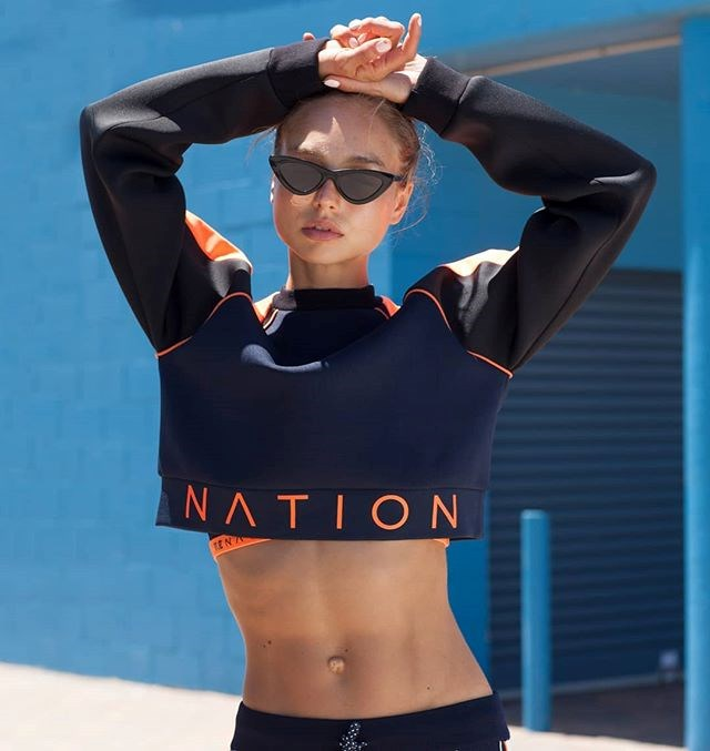 "**P.E. NATION** <br><br> Founded in 2016 by Pip Edwards, P.E. Nation is renowned for merging fashion and sport through its trademark eye-catching garments.  <br><br> Becoming a designated favourite of the Kardashian-Jenners and even winning the National Design Award this year, P.E. is fast becoming one of Australia's most important fashion exports; with its structured, body-sculpting fits ideal for the gym, for out-and-about, and for everything in-between.  <br><br> *Pictured: End Plate Cropped Sweater, $159.00 at [P.E. Nation](https://pe-nation.com/?gclid=EAIaIQobChMI6ery1_Xq2gIVgiQrCh2D6QseEAAYASAAEgKp1vD_BwE|target=""_blank""