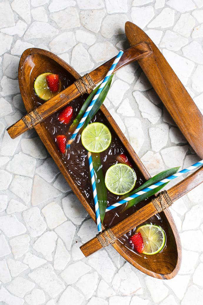"**At World's End:** Made with kraken rum, bacardi carta blanca, cherry liqueur, crème de banana, lime, malibu, and pineapple juice, and is available at [Upper East Side Bondi](https://uppereastsidebondi.com.au/|target=""_blank"")."