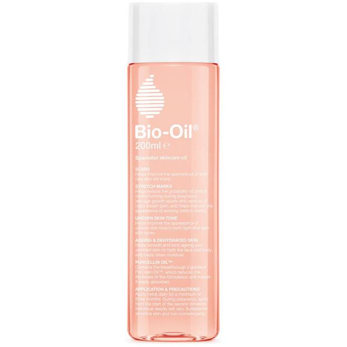 "Bio Oil, $14.99 at [Priceline](https://www.priceline.com.au/bio-oil-bio-oil-60-ml|target=""_blank""|rel=""nofollow"")."