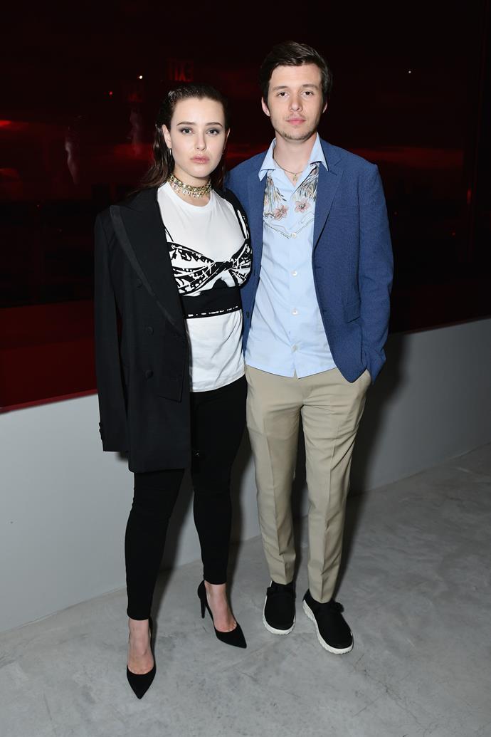 Katherine Langford and Nick Robinson