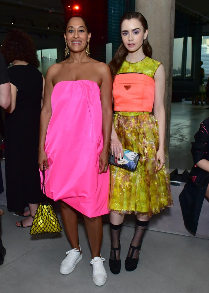 Tracee Ellis Ross and Lily Collins