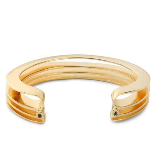"Elizabeth and James Gold-tone crystal cuff, $146 at [The Outnet](https://www.theoutnet.com/en-au/shop/product/bracelets_cod7371418045410039.html#dept=INTL_Elizabeth_and_James_DESIGNERS|target=""_blank"")."