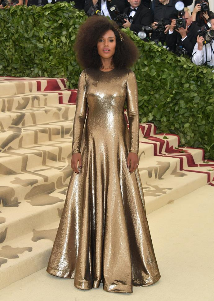 Kerry Washington in Ralph Lauren Collection