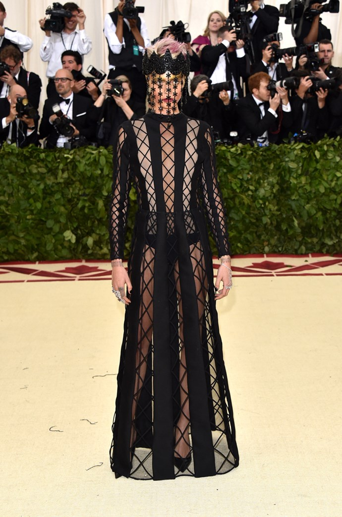 Cara Delevingne in Dior Couture