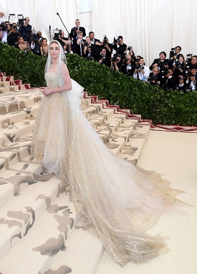 Kate Bosworth in Oscar de la Renta