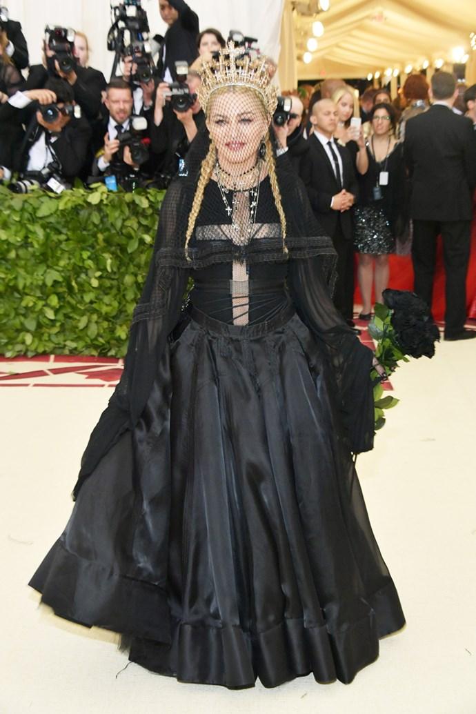 Madonna in Jean Paul Gaultier