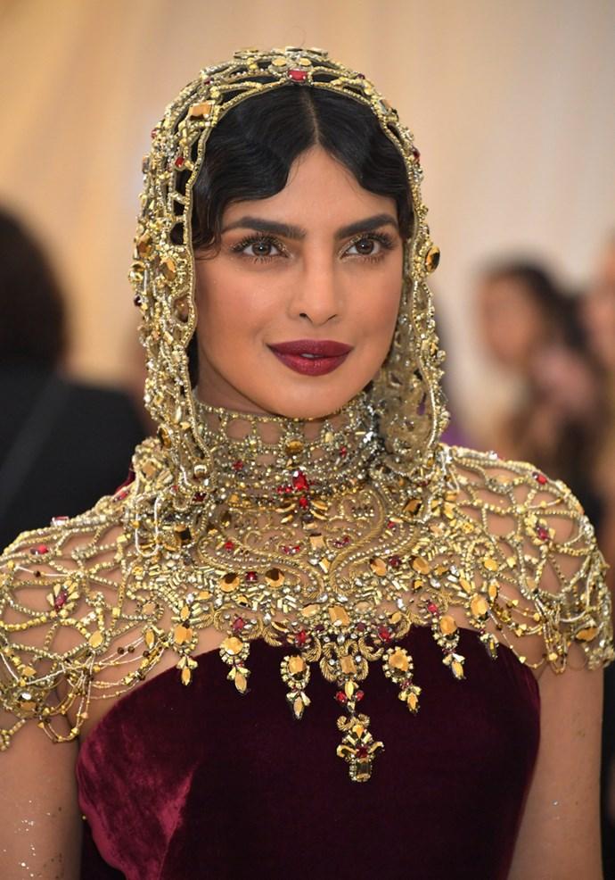 Priyanka Chopra in Ralph Lauren Collection