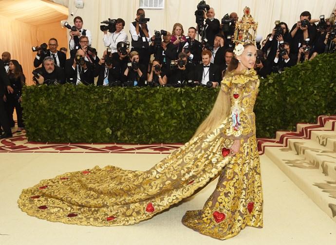 Sarah Jessica Parker in Dolce & Gabbana