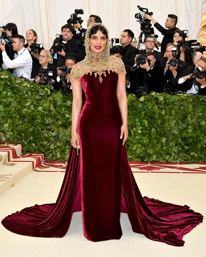Priyanka Chopra in Ralph Lauren Collection