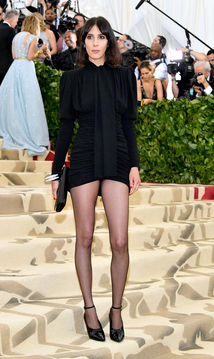 Jamie Bochert in Saint Laurent