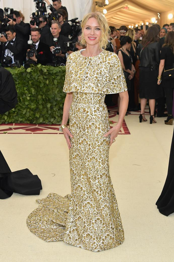 Naomi Watts in Michael Kors