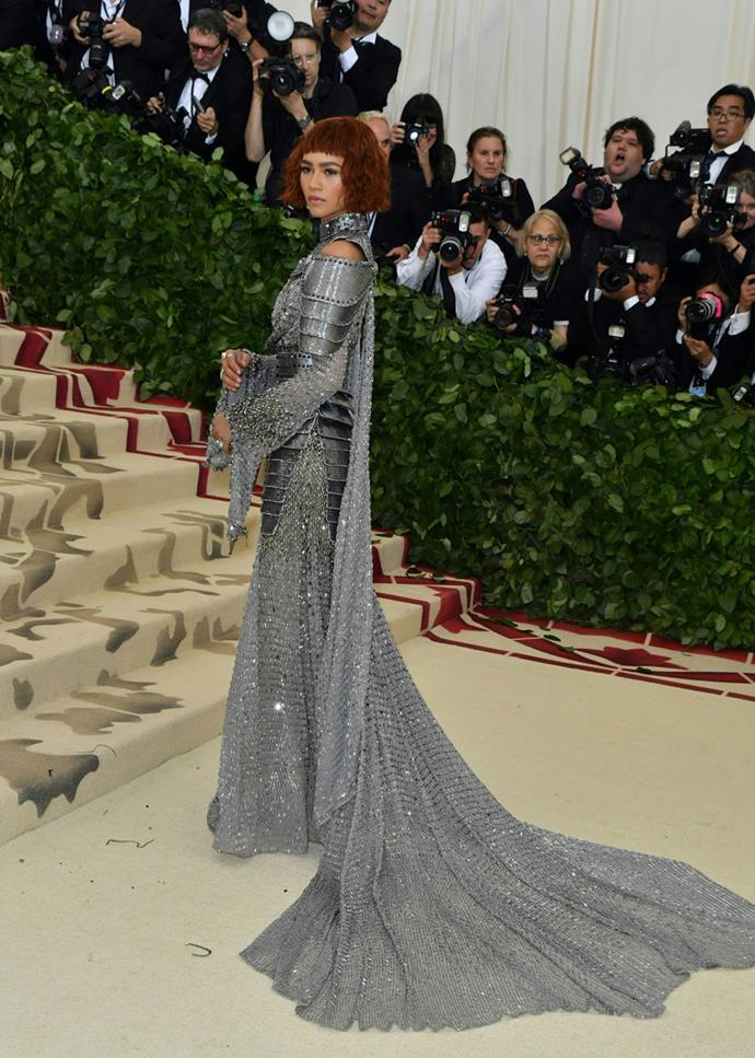 Zendaya in Versace