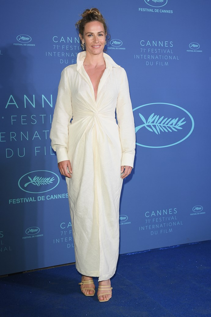**French actress Cecile De France at the Gala dinner**