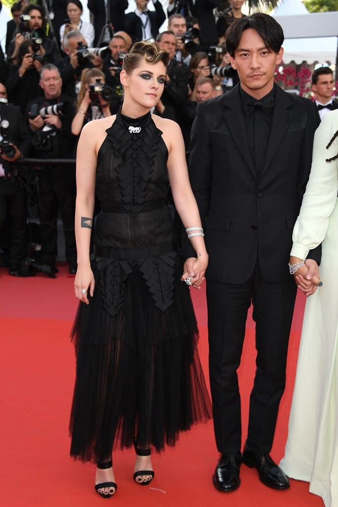 **Kristen Stewart and Chang Chen at the premiere of '*Everybody Knows*'**