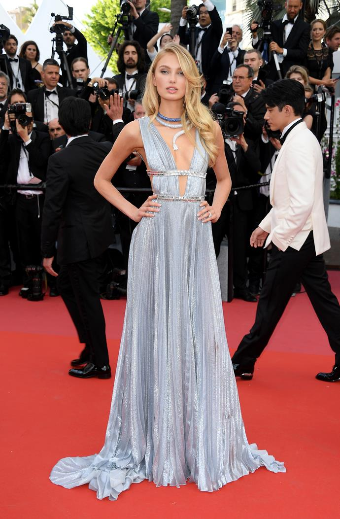 **Romee Strijd at the premiere of '*Everybody Knows*'**