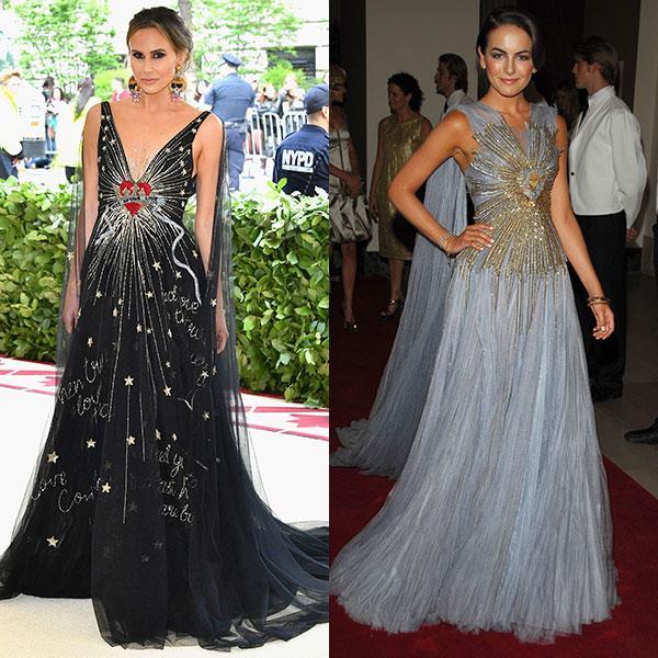 2018: Keltie Knight in Dior<br> 2007: Camille Belle in Jean Paul Gaultier
