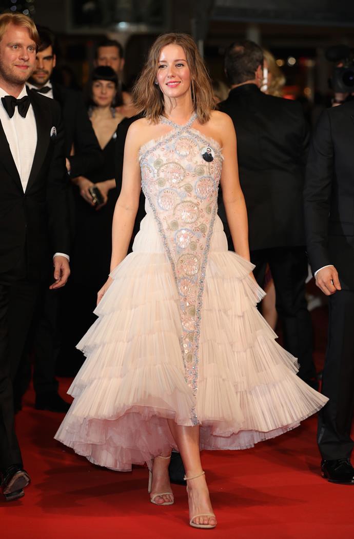 Irina Starshenbaum in Chanel Couture