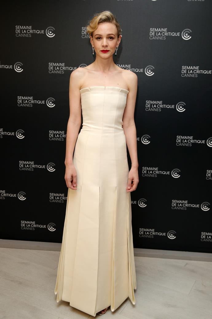 Carey Mulligan in Christian Dior Couture and Chaumet