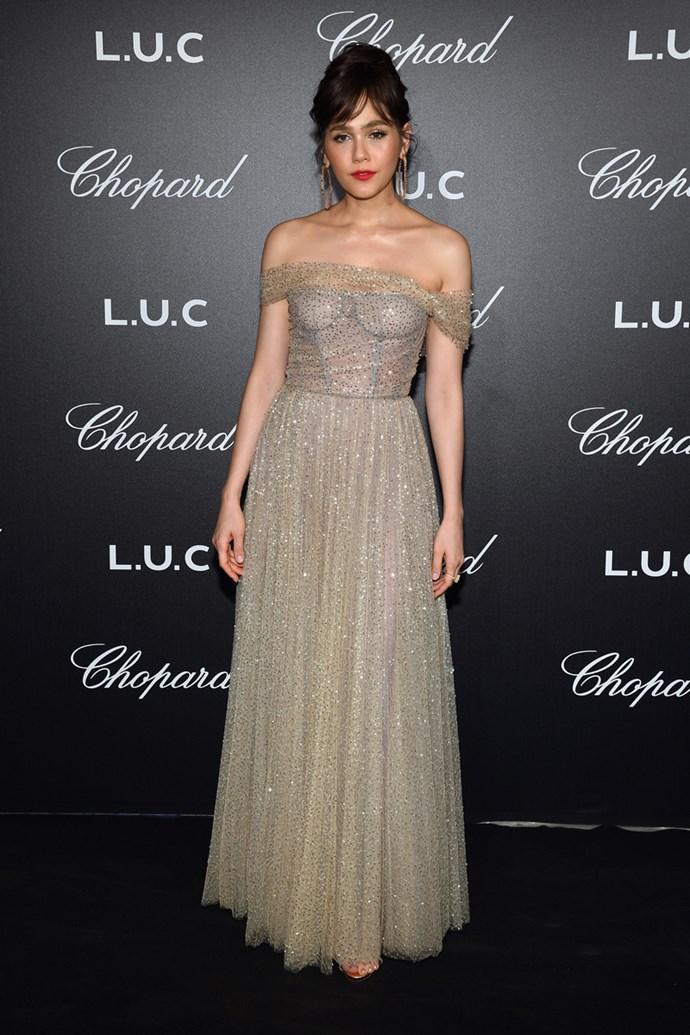 Araya A. Hargate in Christian Dior