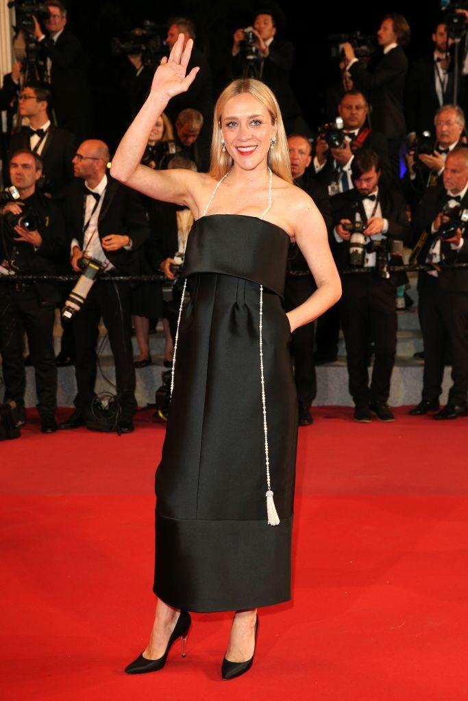 Chloe Sevigny in Chanel.