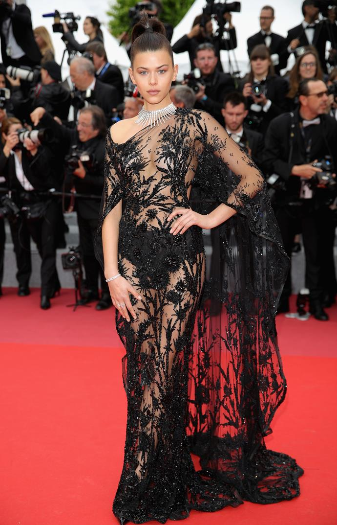 Georgia Fowler in Zuhair Murad Couture and Messika Jewellery.