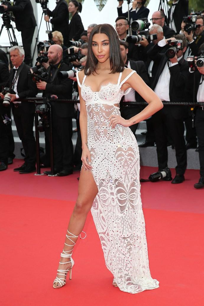 Chantel Jeffries at Cannes.