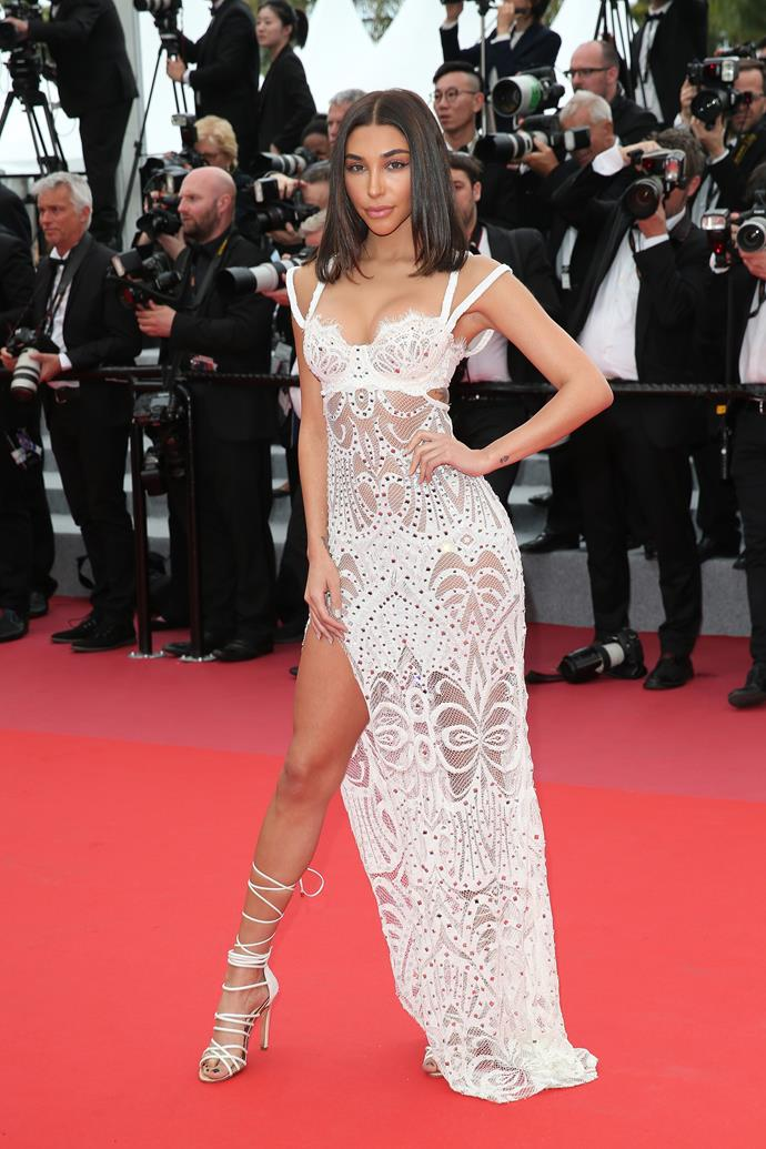 Chantel Jeffries at Cannes.