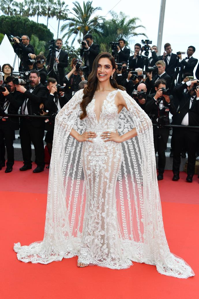 Deepika Padukone at Cannes.