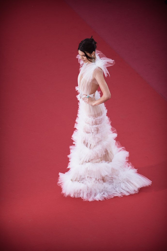 Kendall Jenner at Cannes.