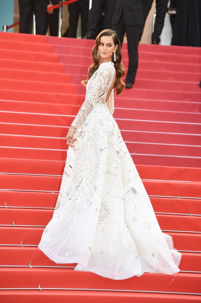 Izabel Goulart at Cannes.