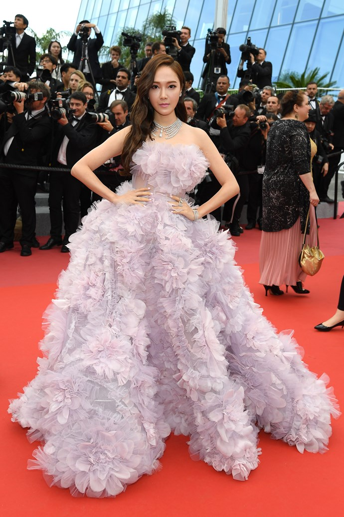 Jessica Jung at Cannes.