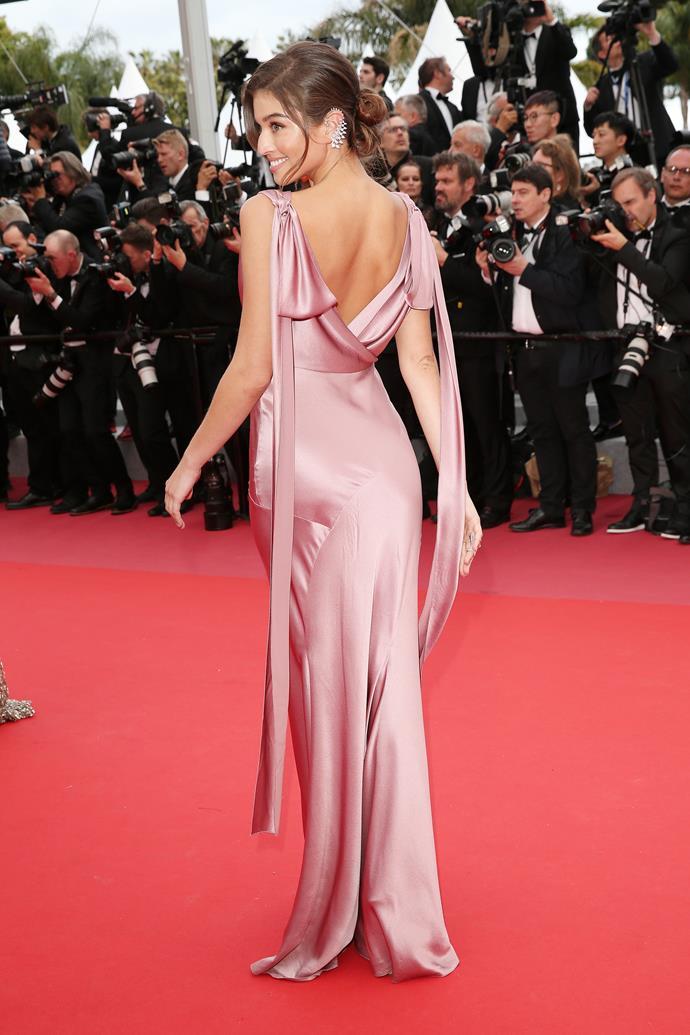 Daniela Lopez at Cannes.