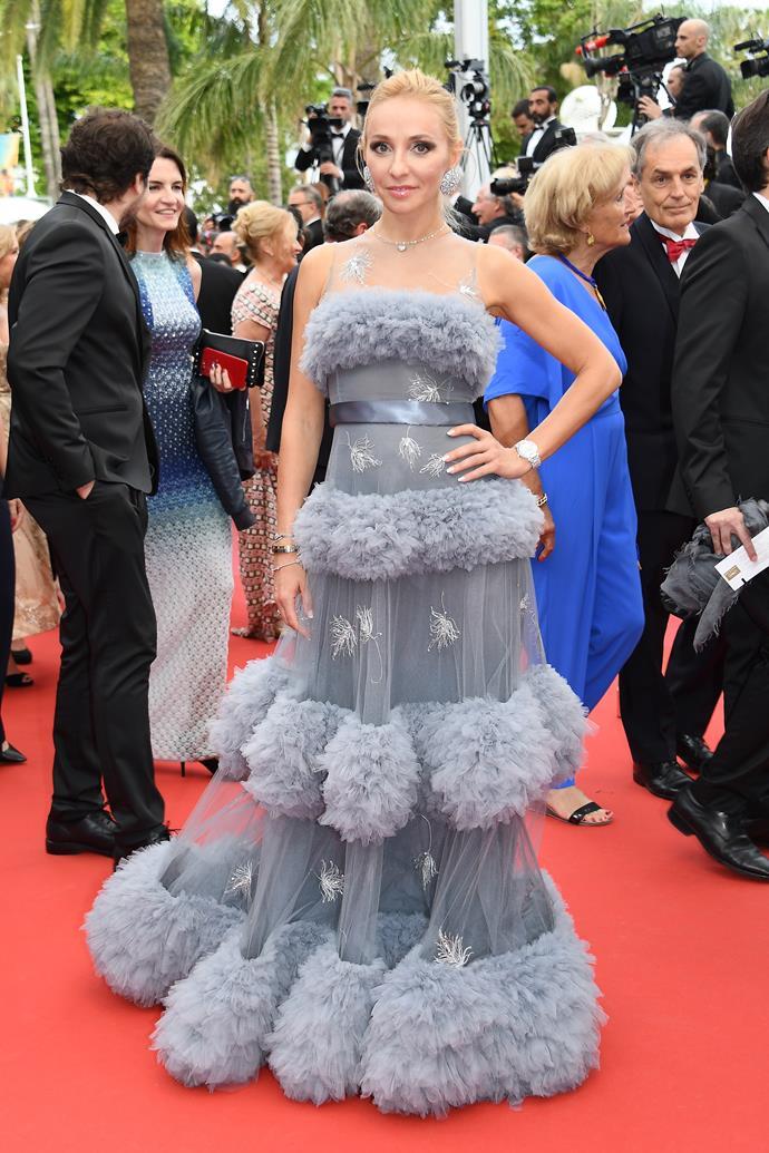 Tatiana Navka at Cannes.