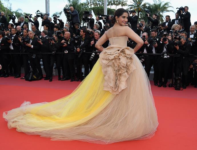 Soonam Kapoor at Cannes.