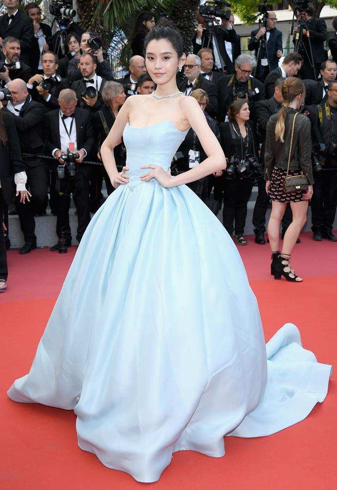 Ming Xi at Cannes.