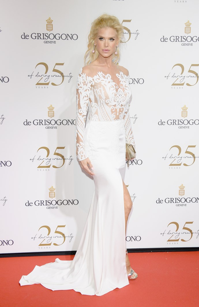 Victoria Silvstedt at Cannes.