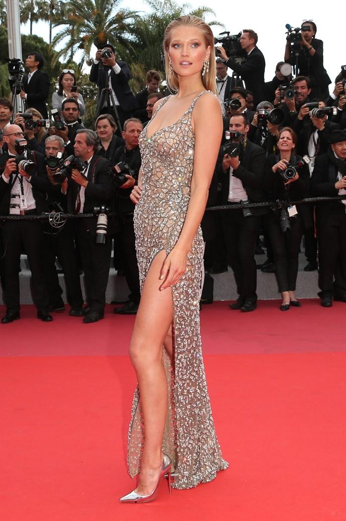 Toni Garn at Cannes.
