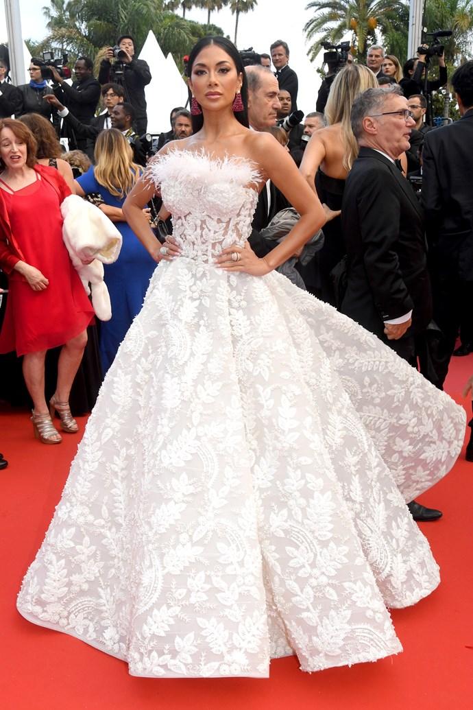 Nicole Scherzinger at Cannes.