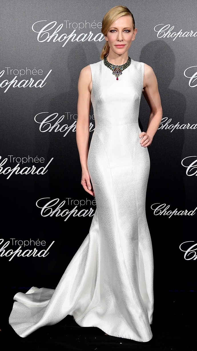 Cate Blanchett at Cannes.