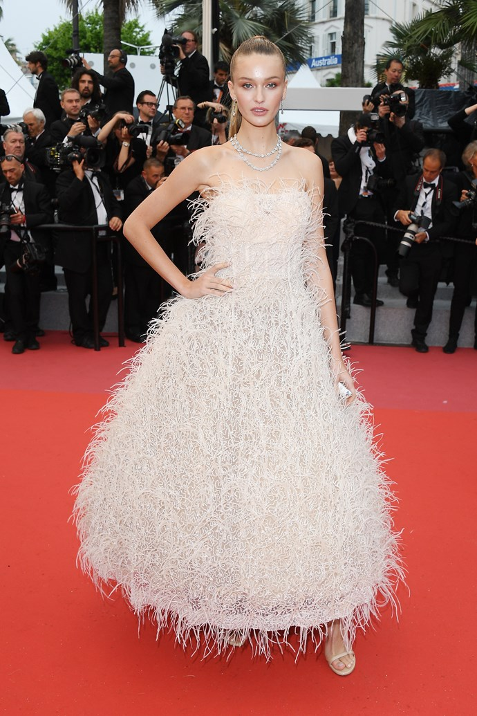 A guest arrives at Cannes.