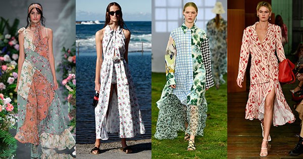 **New florals** <br><br> We Are Kindred; Emilia Wickstead x MATCHESFASHION.COM; Lee Mathews; C/MEO Collective