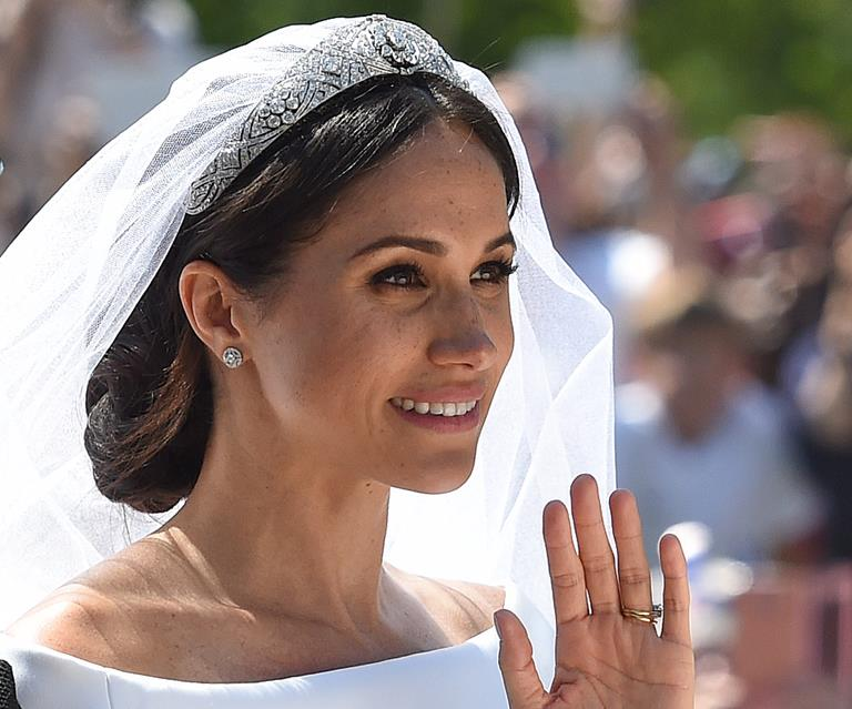 14++ Meghan Markle Wedding Day Makeup