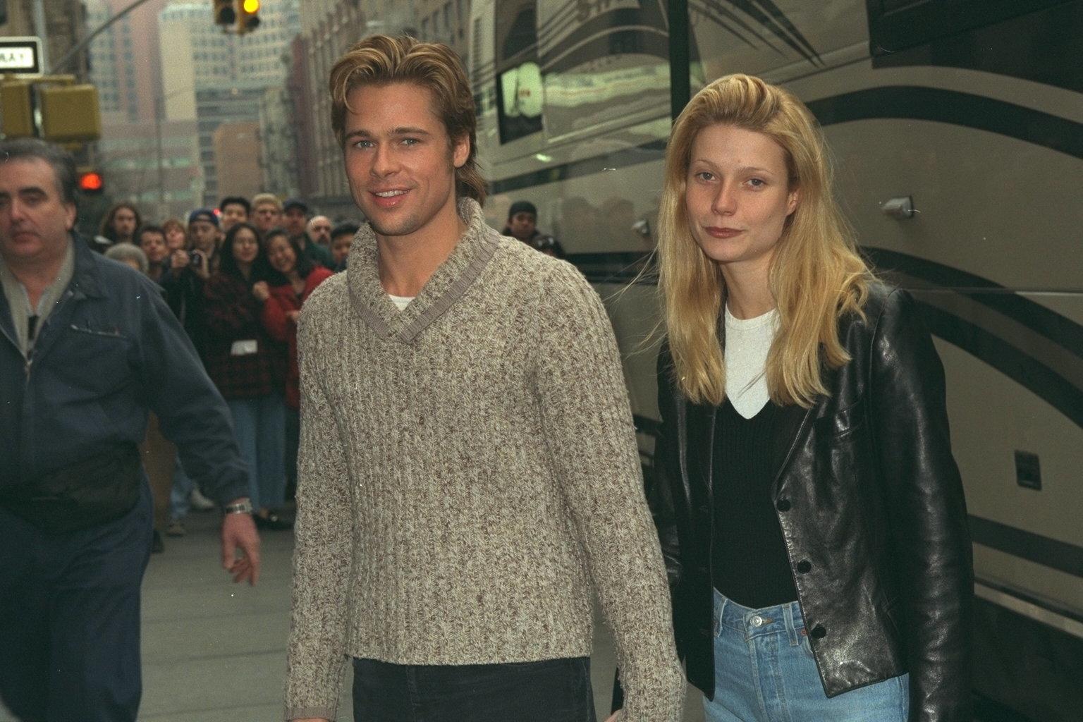 Gwyneth Paltrow says Brad Pitt once threatened Harvey Weinstein